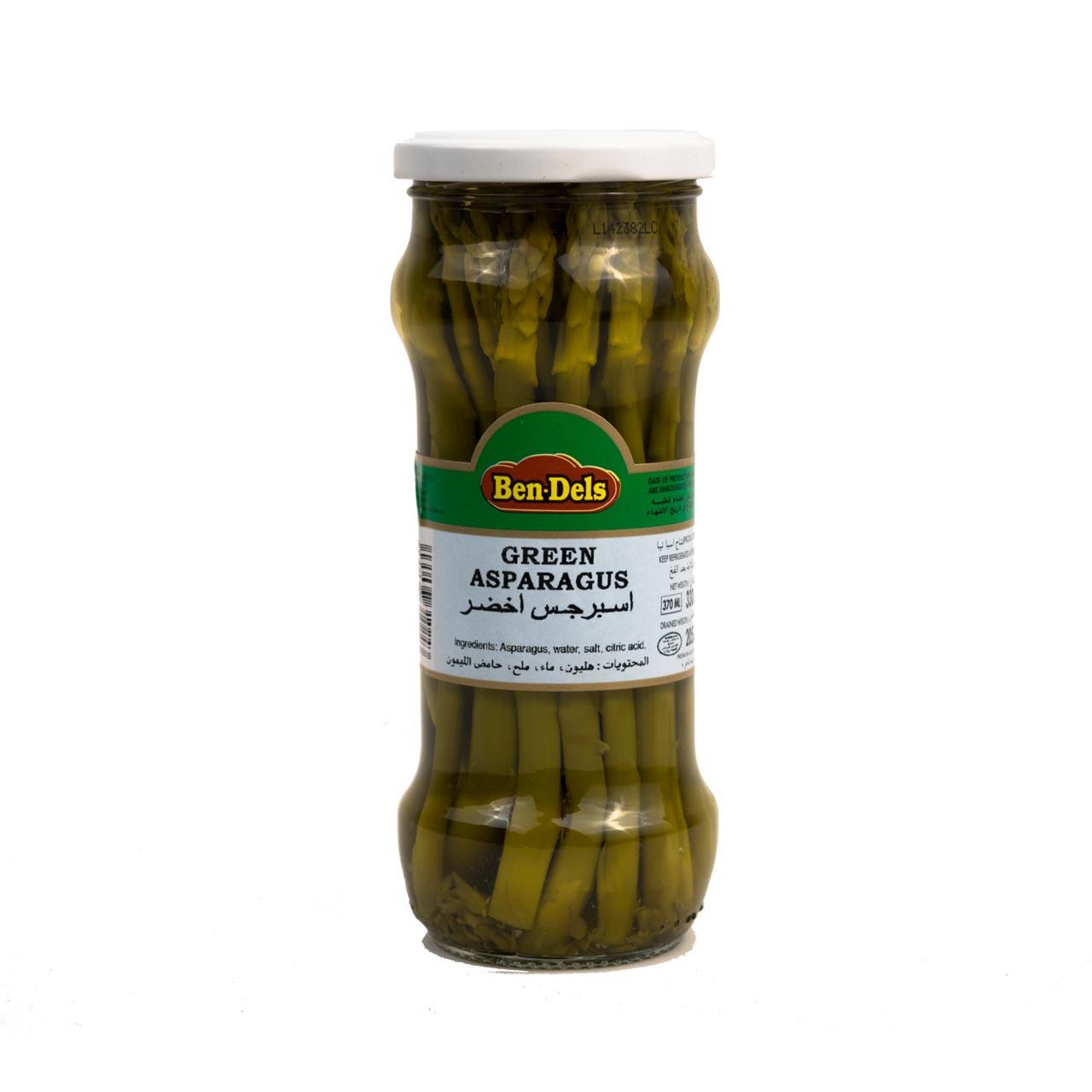 مارچوبه سبز شیشه ای