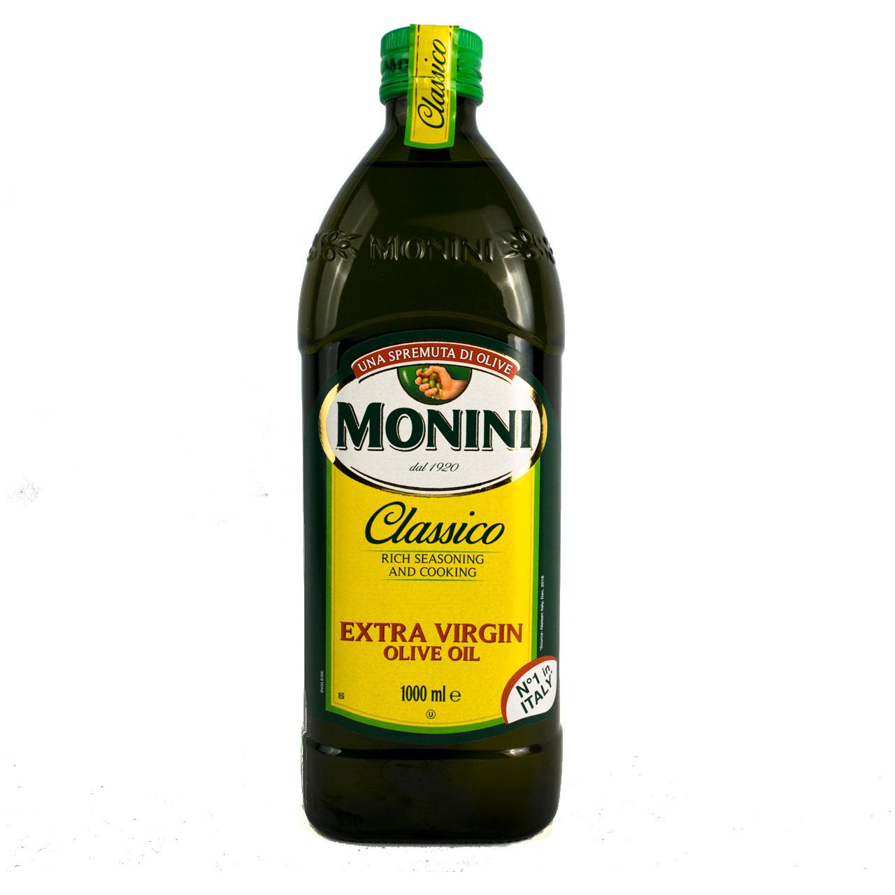روغن زیتون با بو یک لیتر مونینی – monini