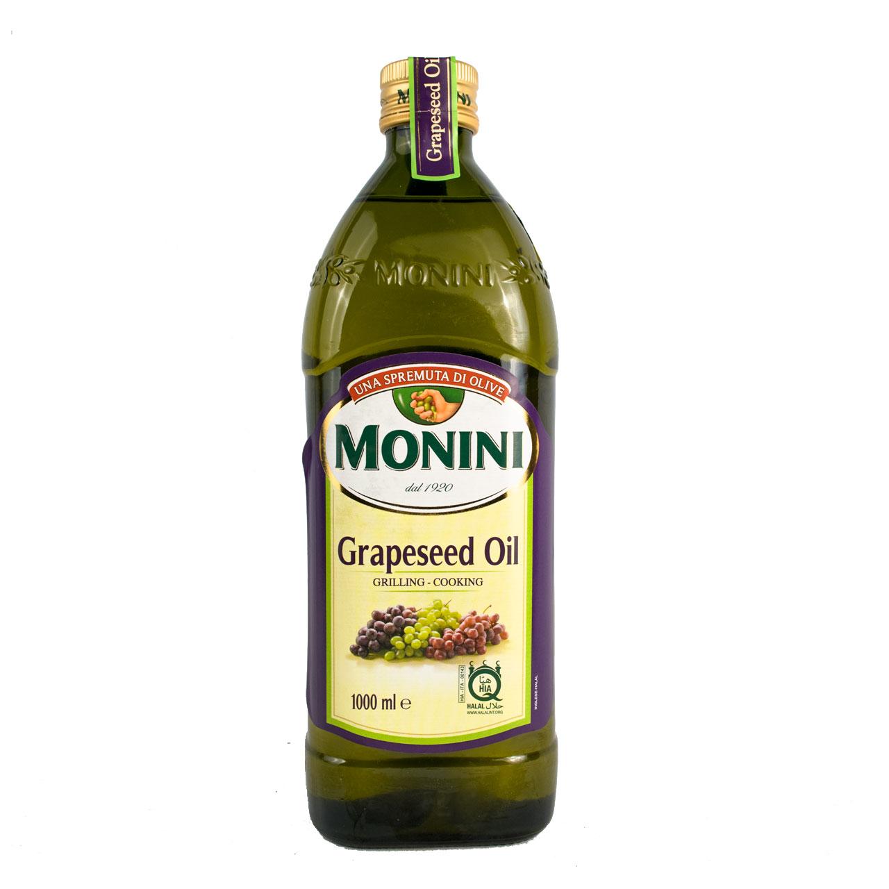 روغن هسته انگور یک لیتر مونينی – monini
