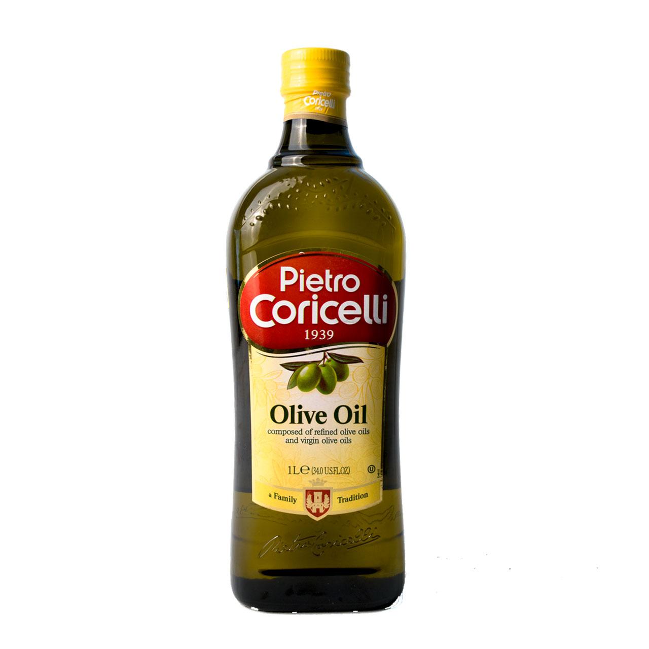 روغن زیتون بی بو یک لیتر کوریچلی – coricelli