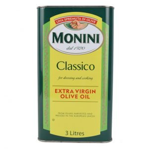 روغن زیتون کلاسیک 3 لیتر مونینی
