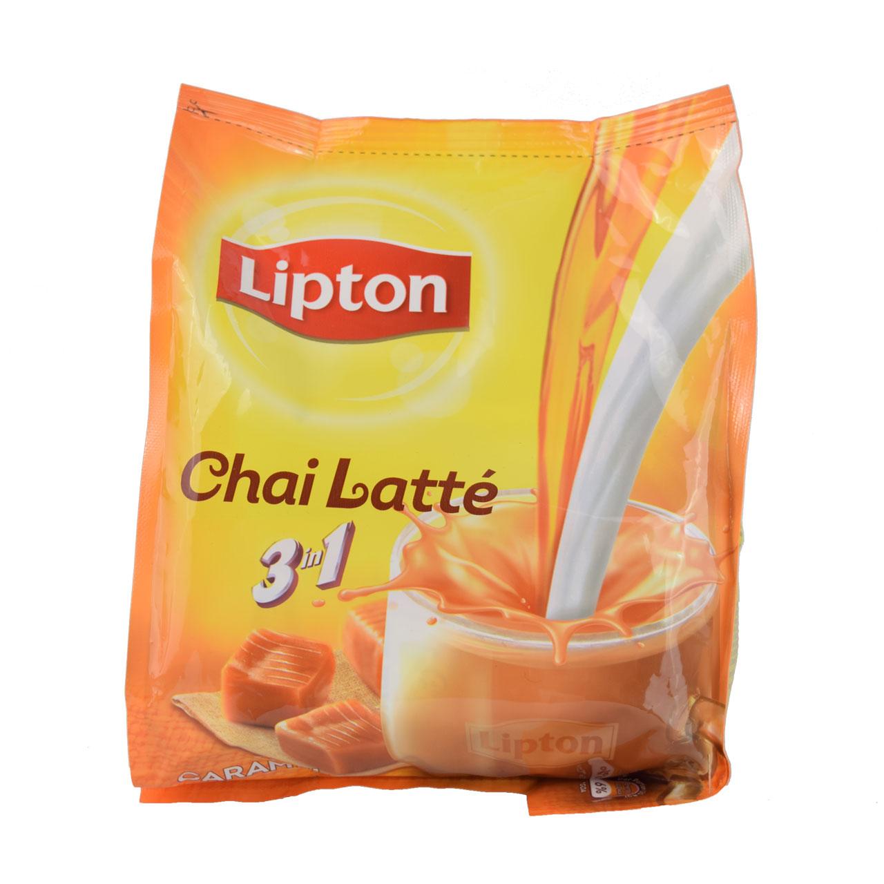 چاي لاته ليپتون کارامل