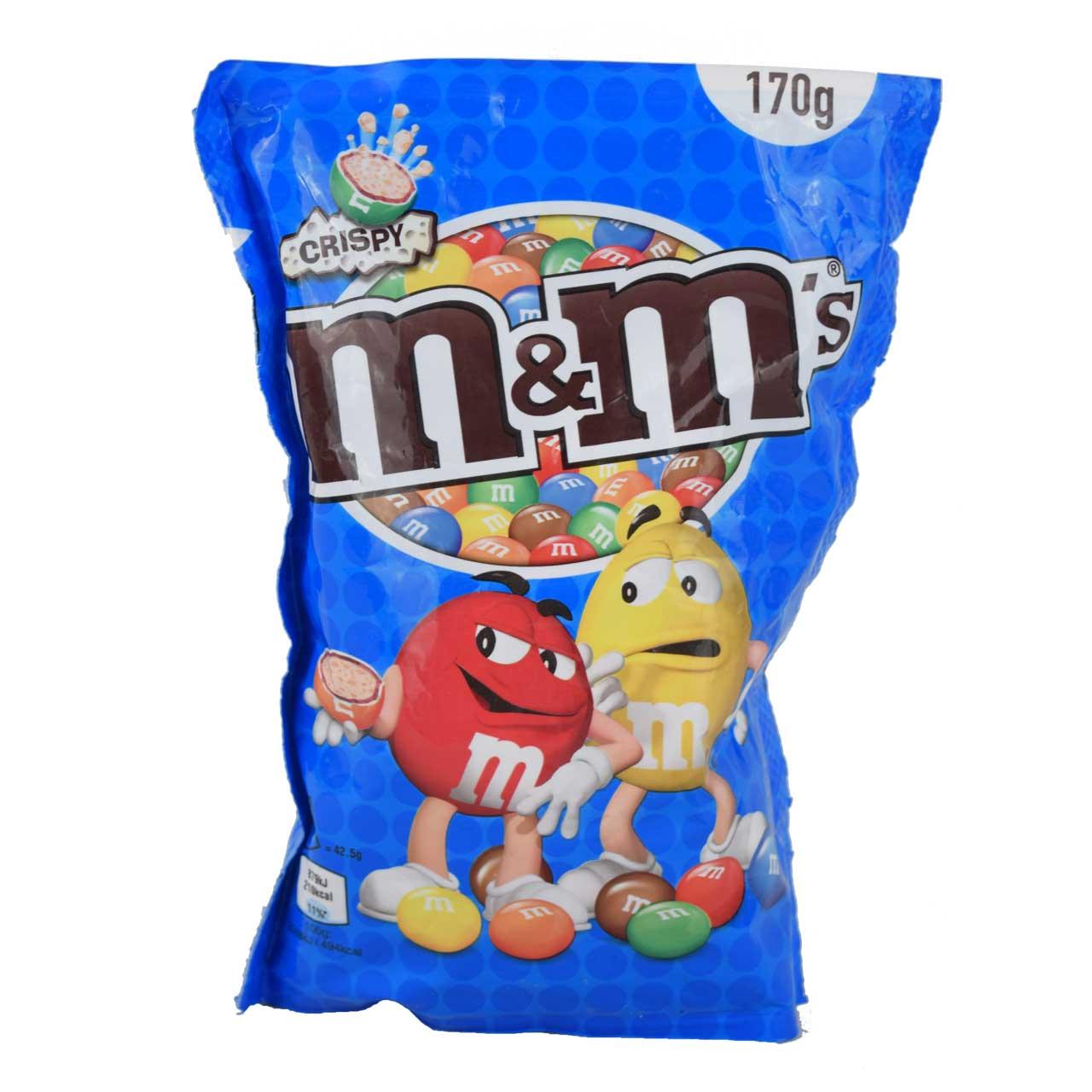 شکلات با مغز کریسپی ۱۷۰ گرمی ام اند ام – m&m