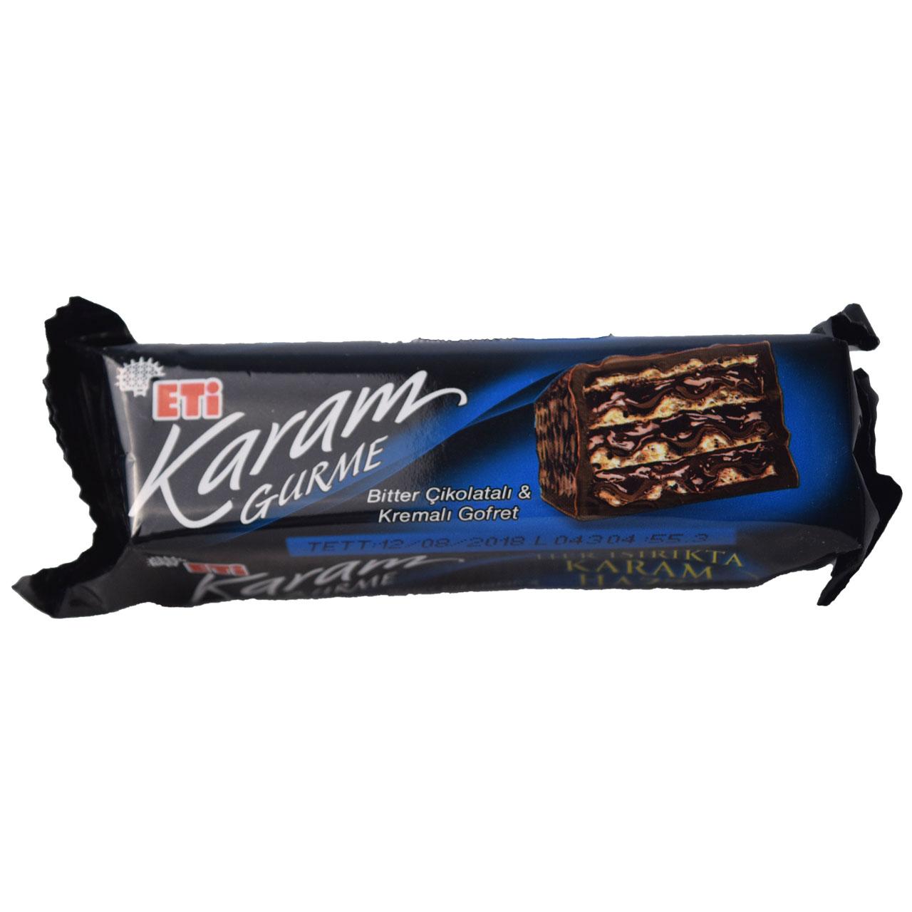ویفر شکلاتی کارام