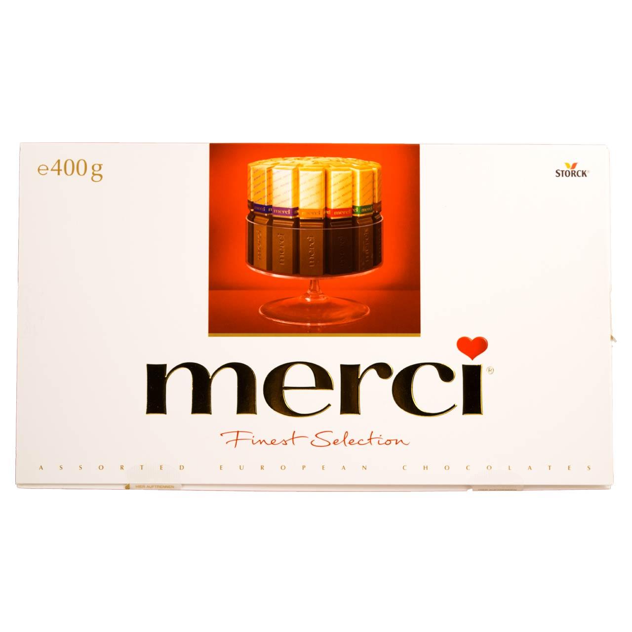 شکلات مرسی ۴۰۰ گرمی – merci