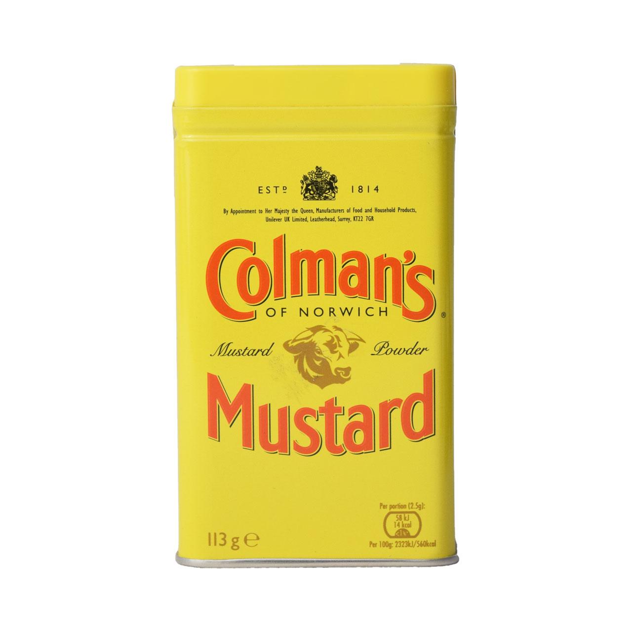 پودر خردل ۱۱۳ گرم کولمنز – Colman's