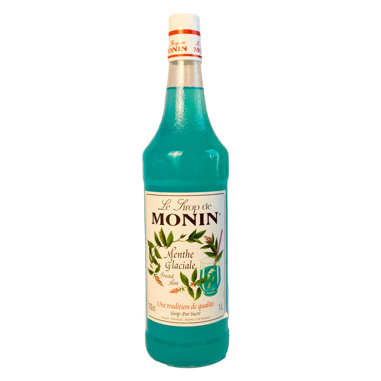 سیروپ نعنا یخی یک لیتر مونین – monin