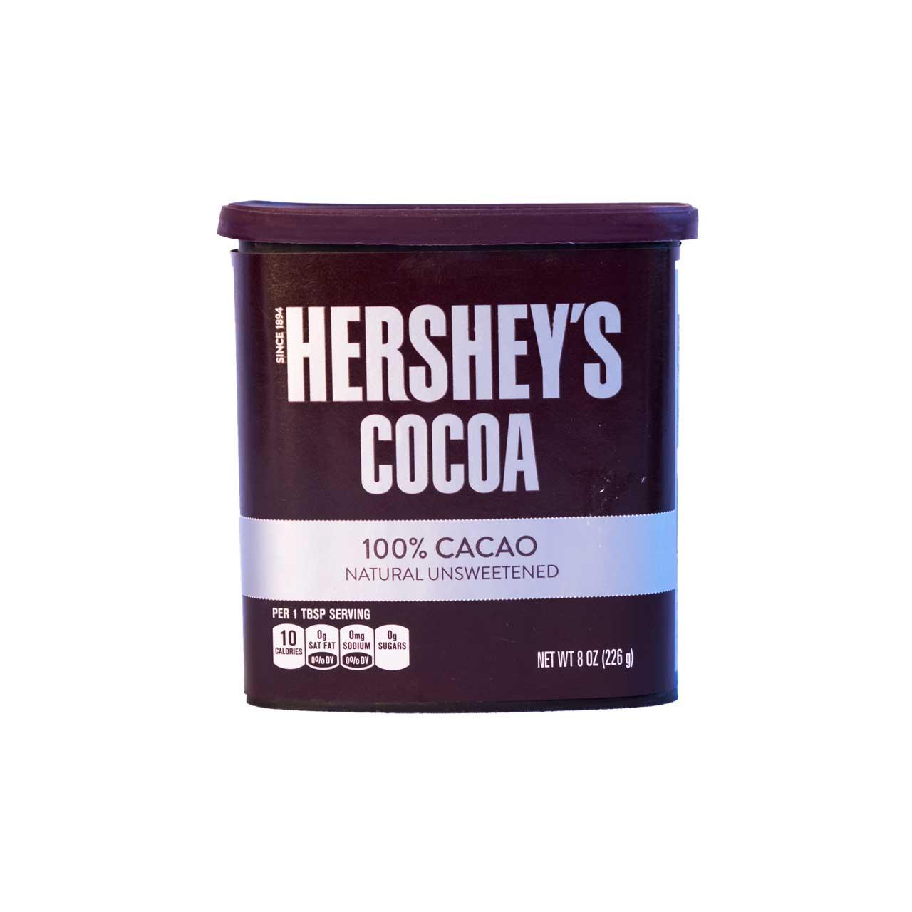پودر کاکائو خالص ۲۲۶ گرم هرشیز – hershey's