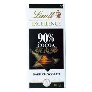 شکلات 90 درصد تلخ لینت