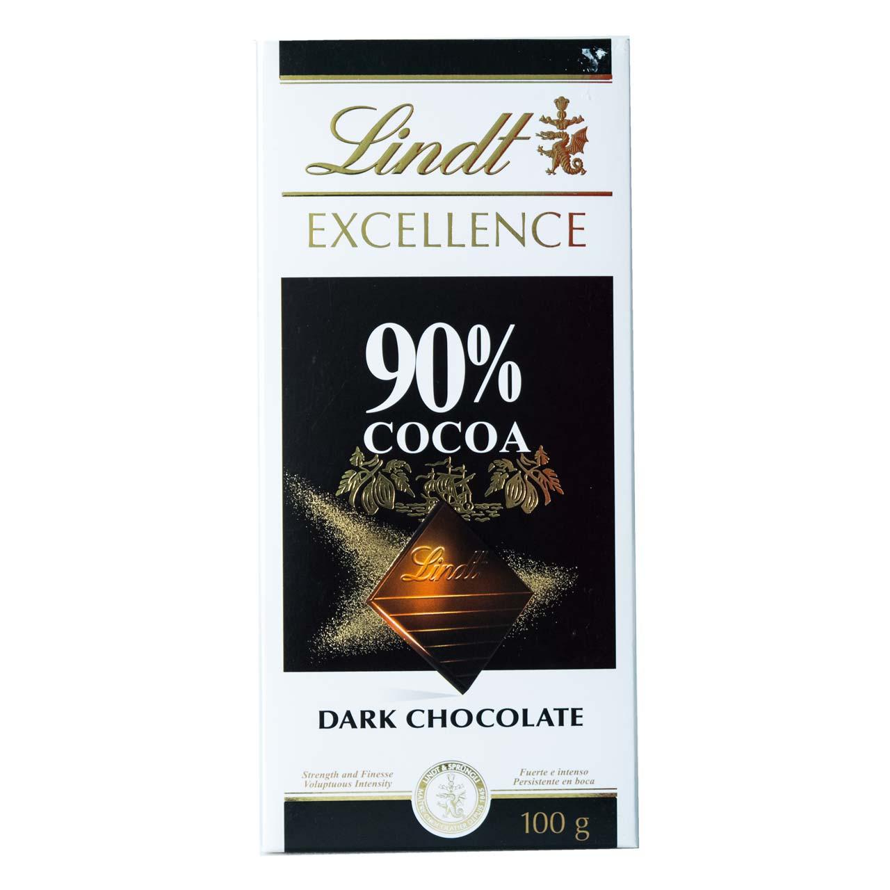 شکلات ۹۰ درصد تلخ لینت – lindt