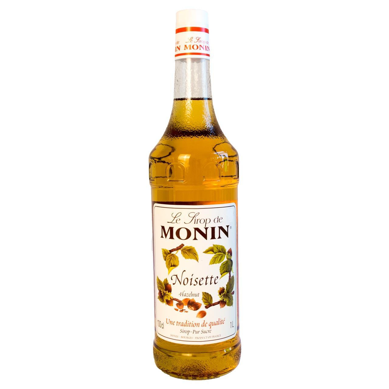سیروپ فندق یک لیتر مونین – monin