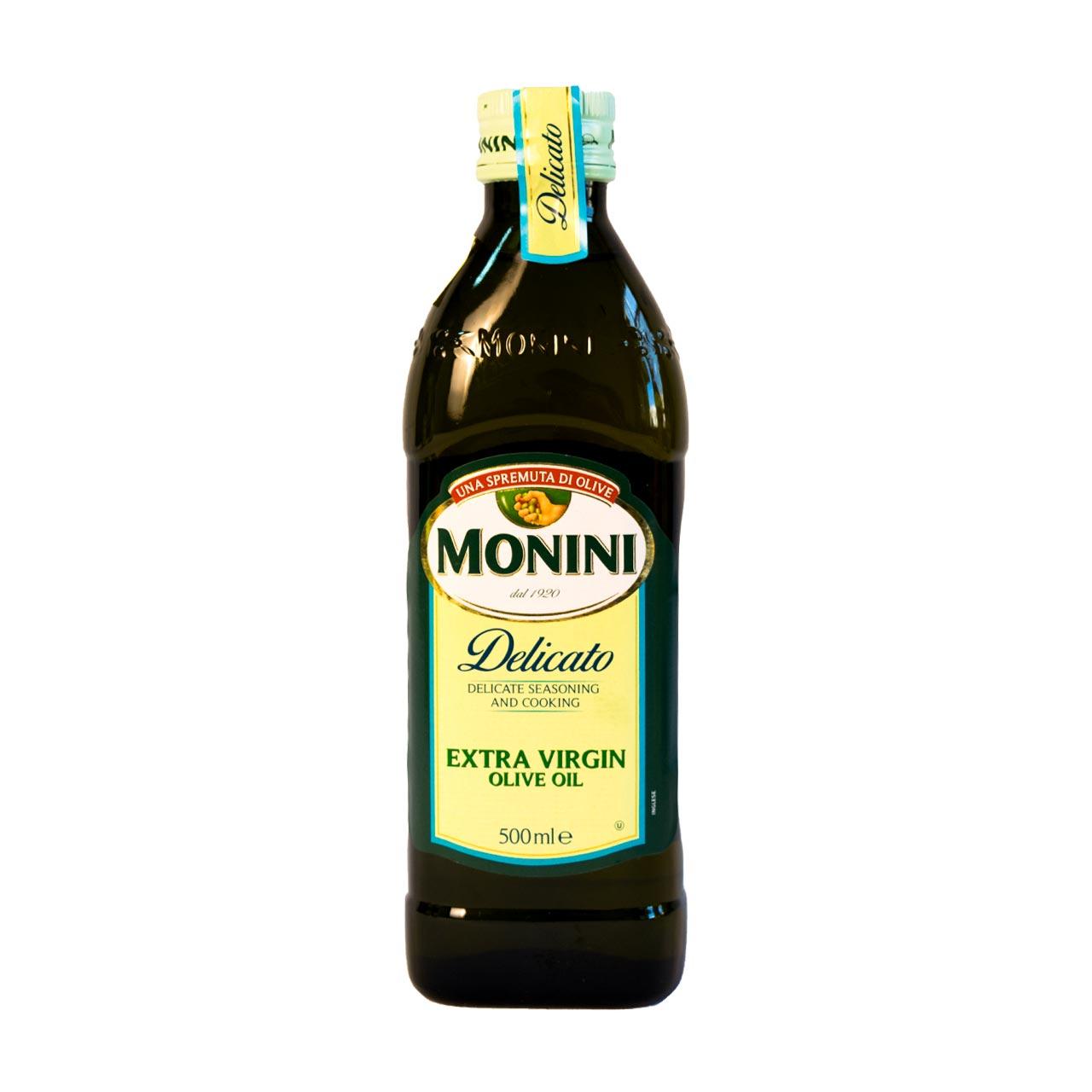 روغن زیتون با بو نیم لیتر مونینی – monini