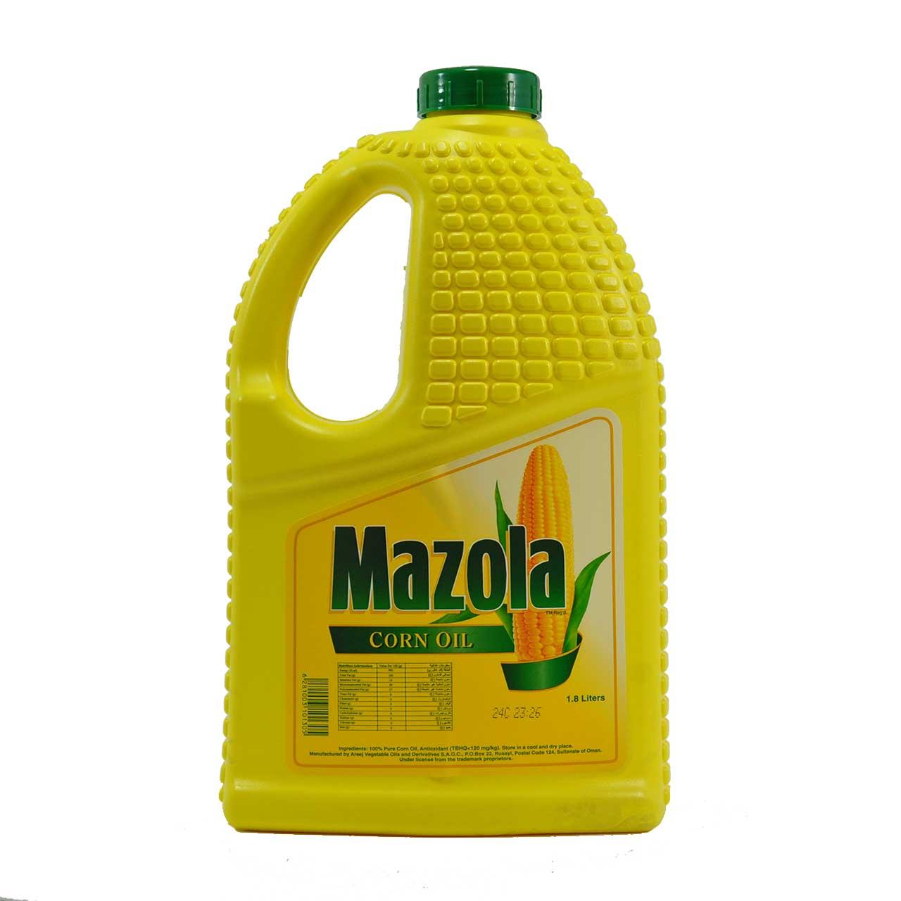 روغن ذرت مازولا ۲٫۵ لیتر