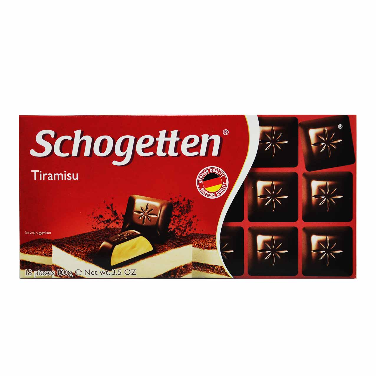 شکلات تیرامیسو شوگوتن – schogetten