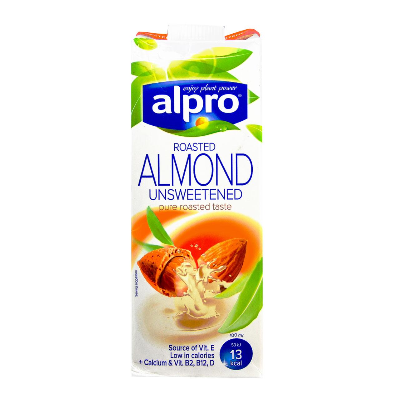 شیر بادام بدون شکر آلپرو – alpro