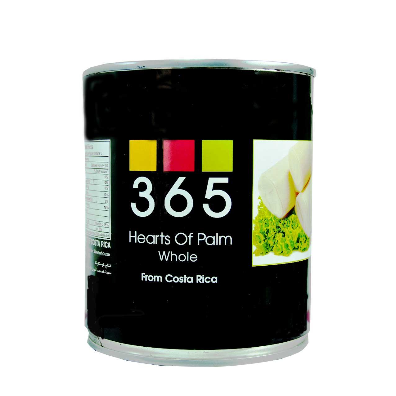 کنسرو هارت آف پالم ( مغز درخت خرما ) heart of palm