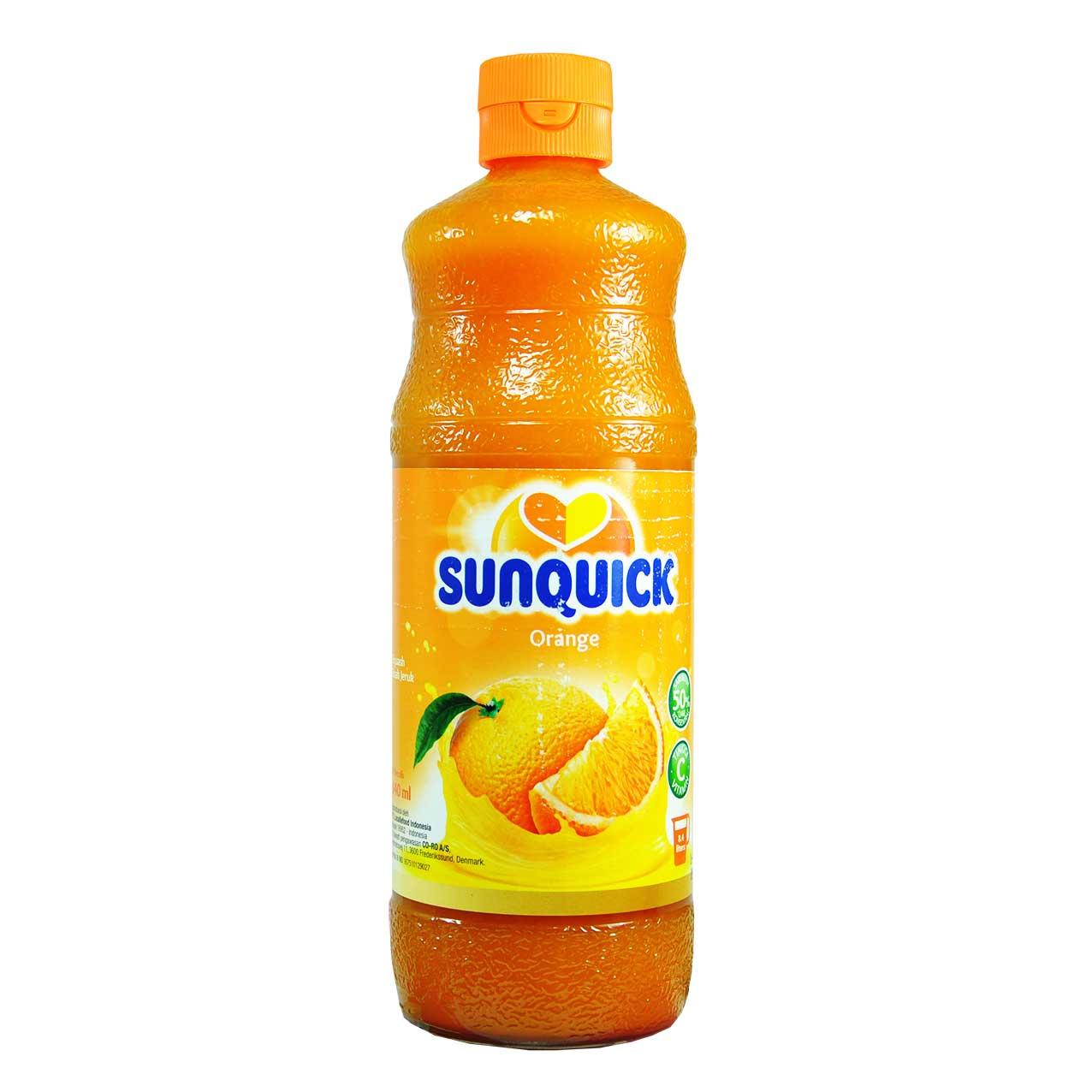 شربت پرتقال سن کوییک – sunquick