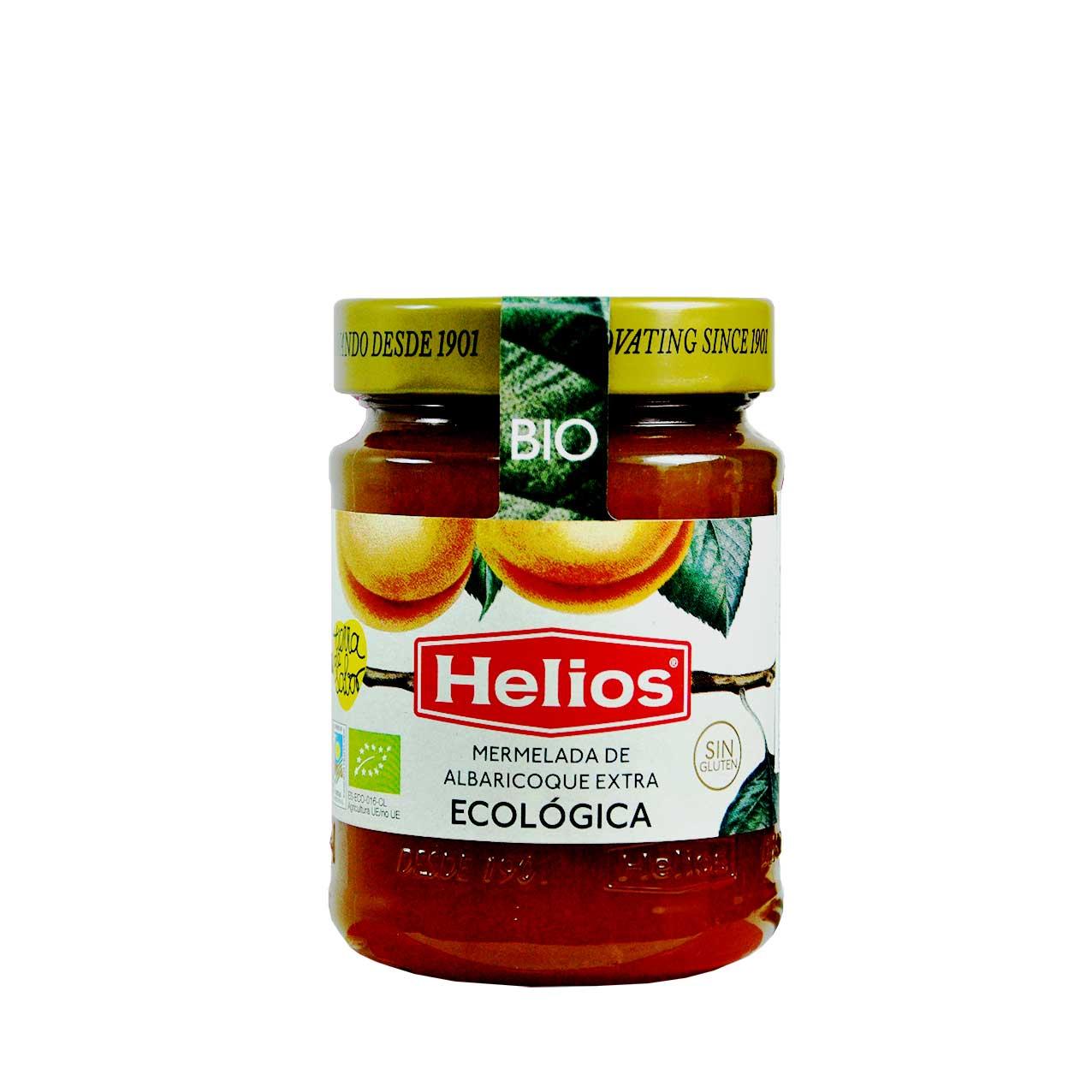 مارمالاد زردآلو ارگانیک بدون گلوتن هلیوس – helios