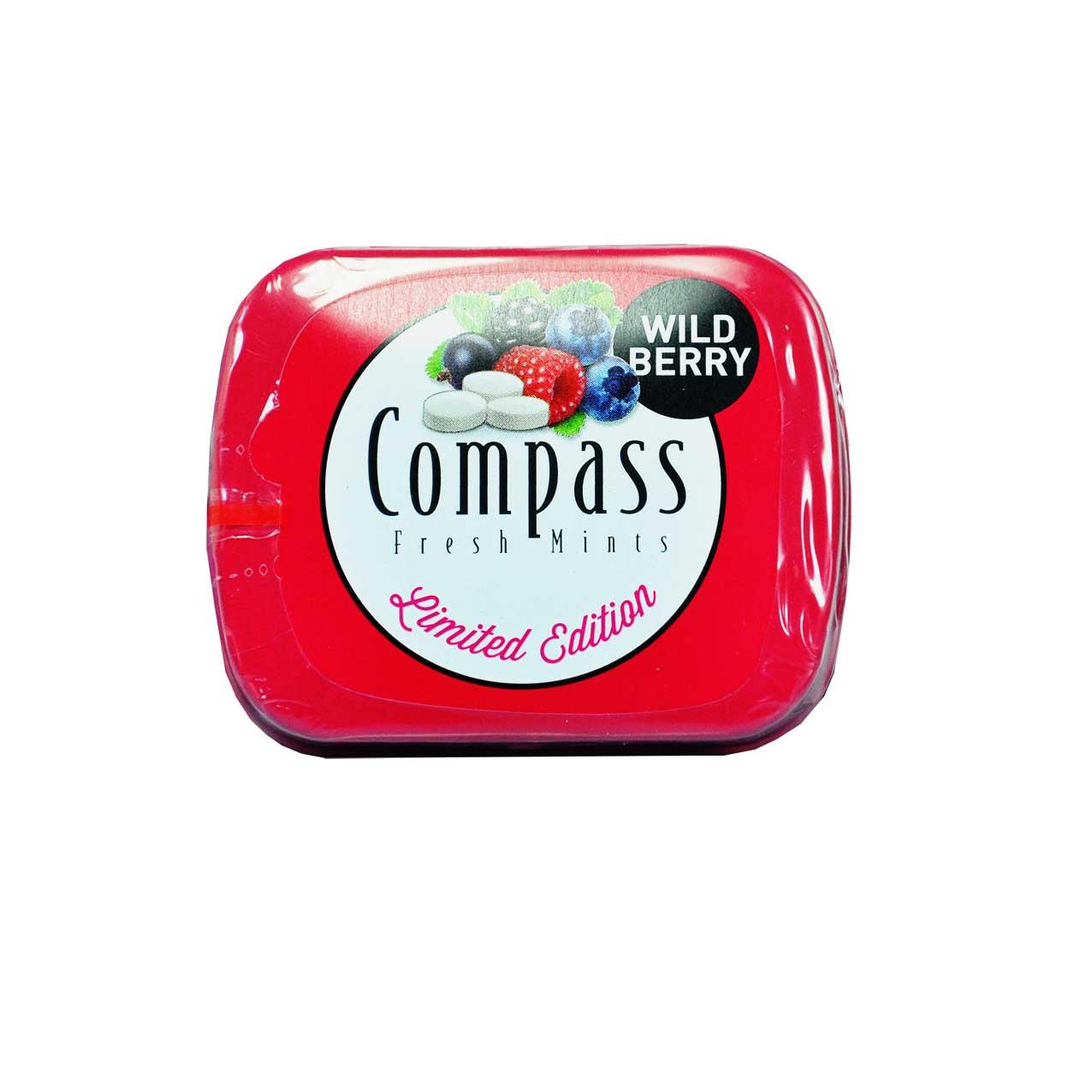 آبنبات توت های جنگلی کومپاس – compass