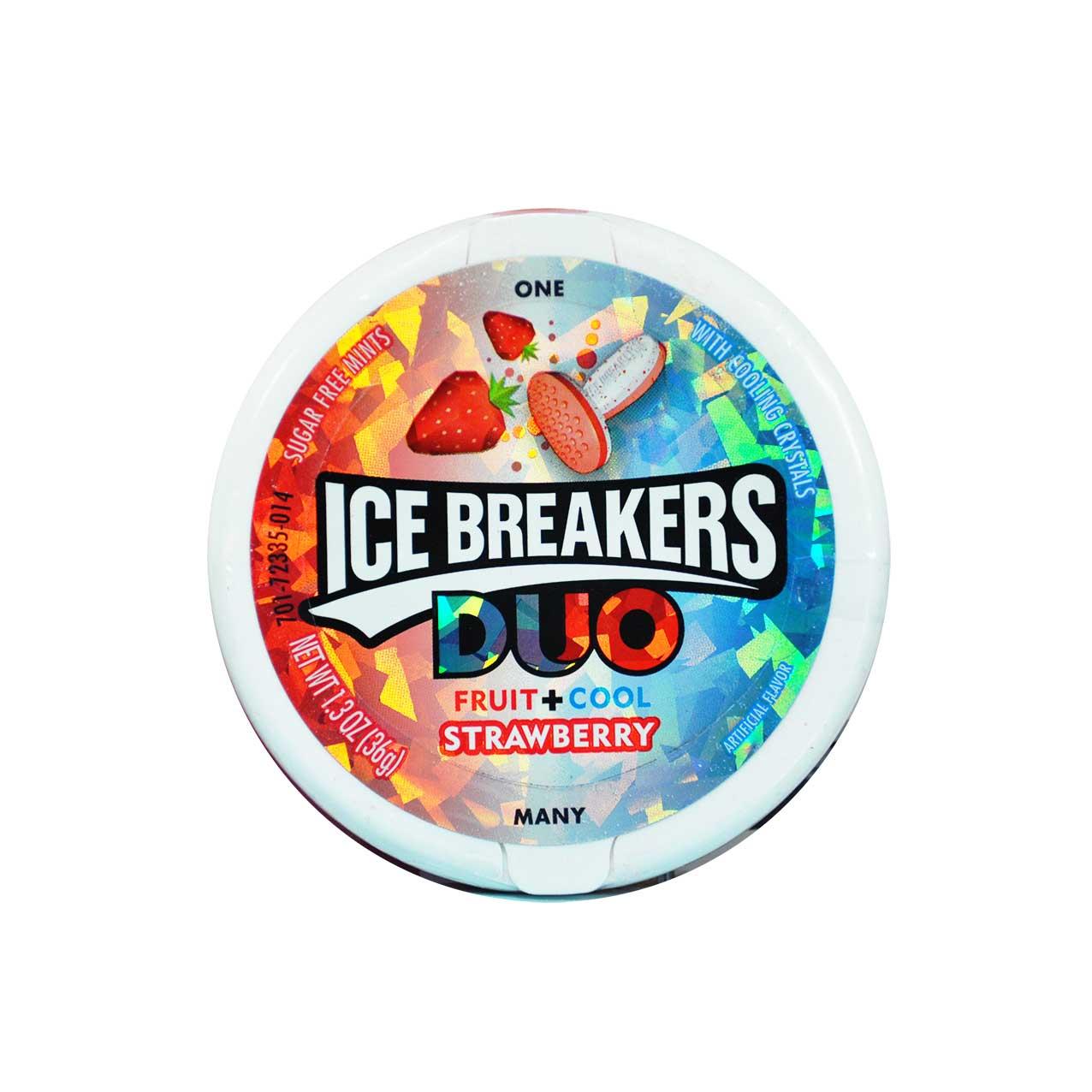 آبنبات توت فرنگی آیس بریکرز – ice breakers