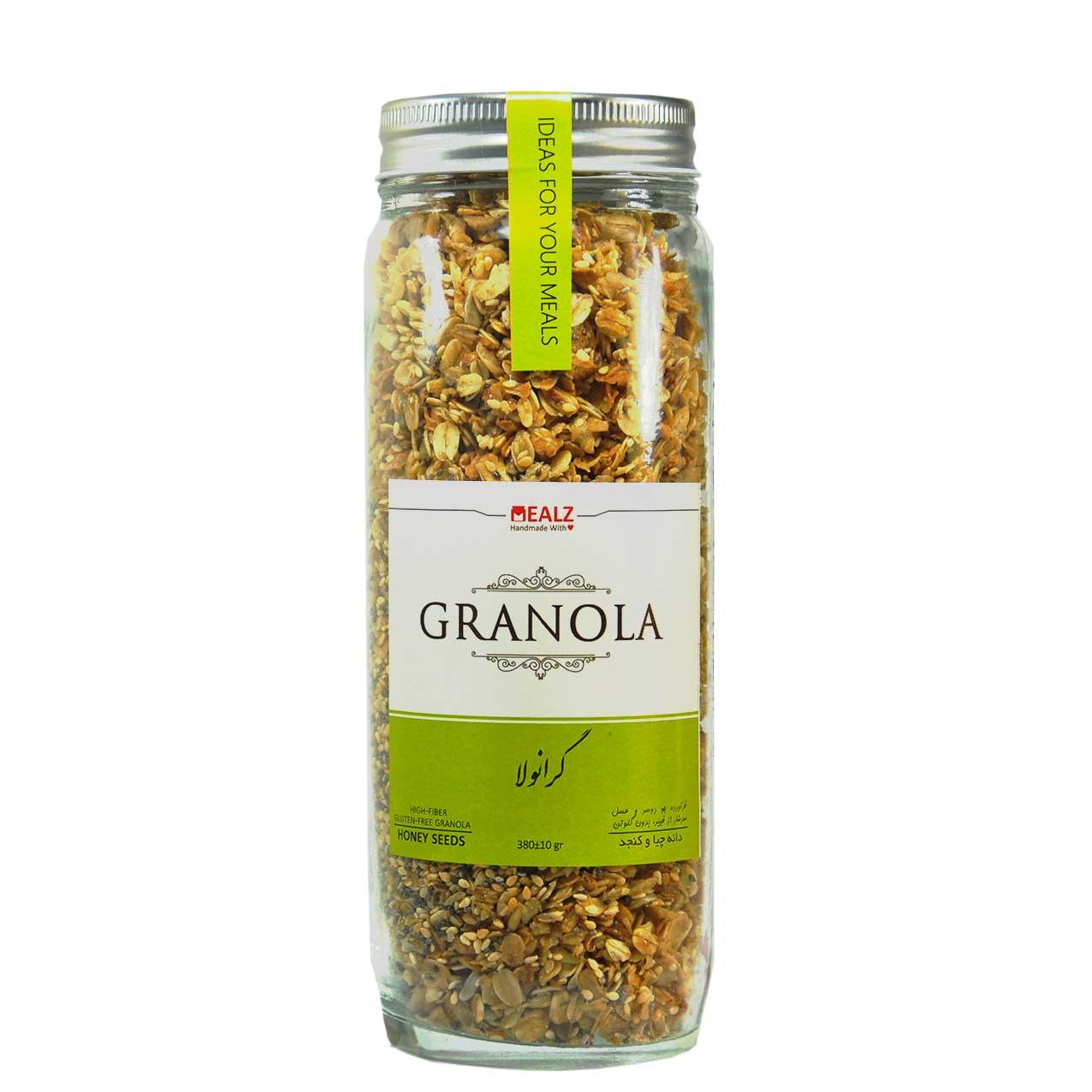 جو دوسر با دانه ی چیا و کنجد گرانولا – Granola