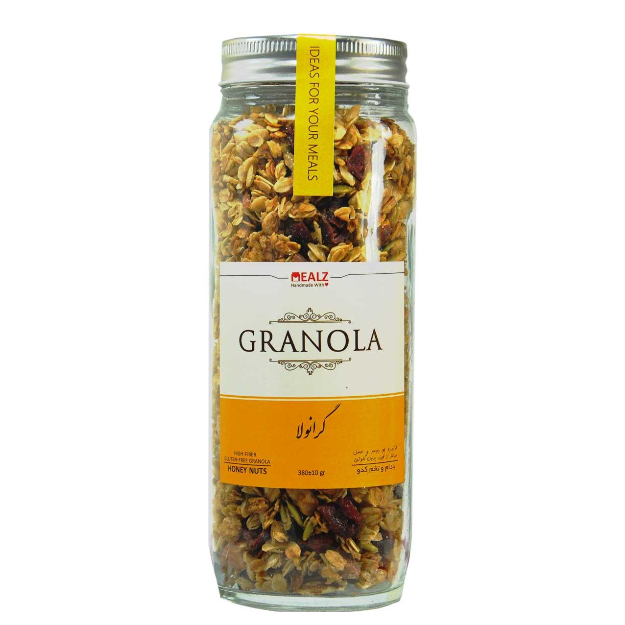 جو دوسر با بادام و تخم کدو گرانولا – Granola