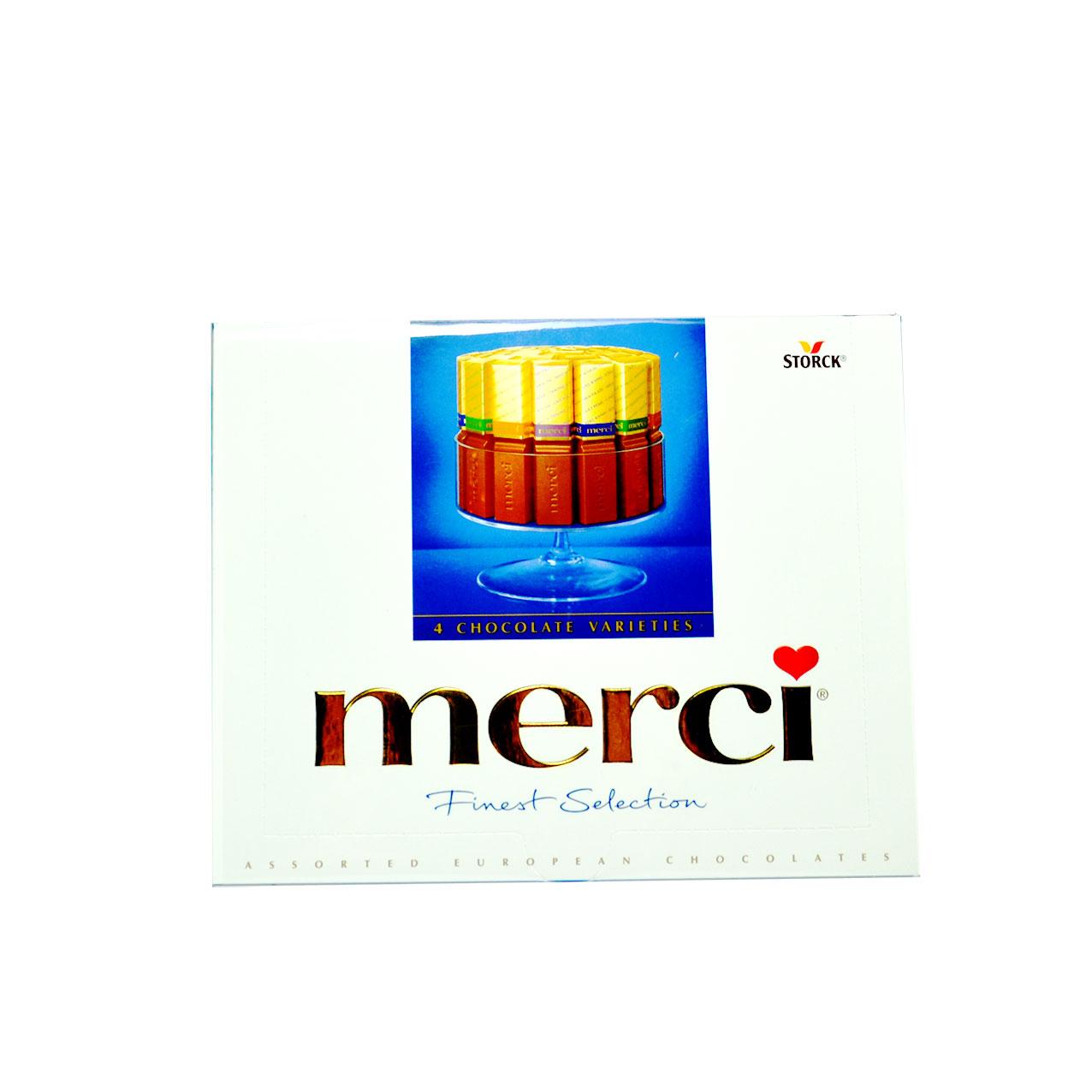 شکلات ۲۵۰ گرم مرسی – merci