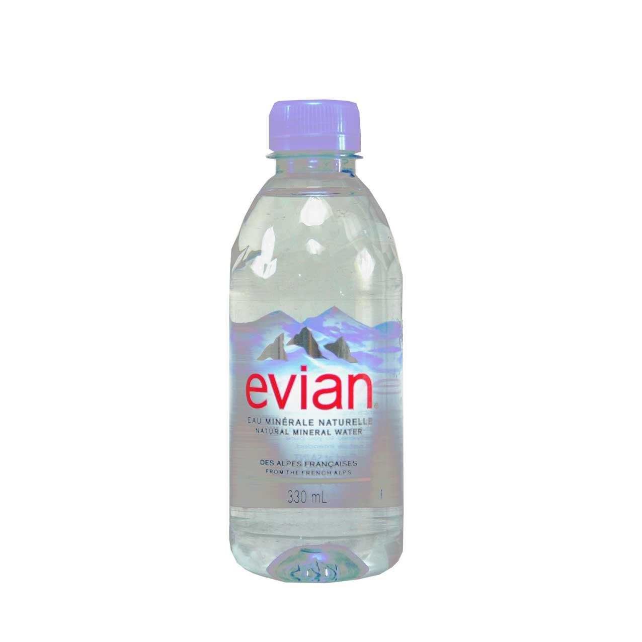 آب معدنی ۳۳۰ میلی لیتر اوین – evian
