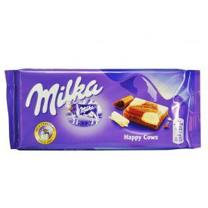 شکلات سفید وشیری میلکا