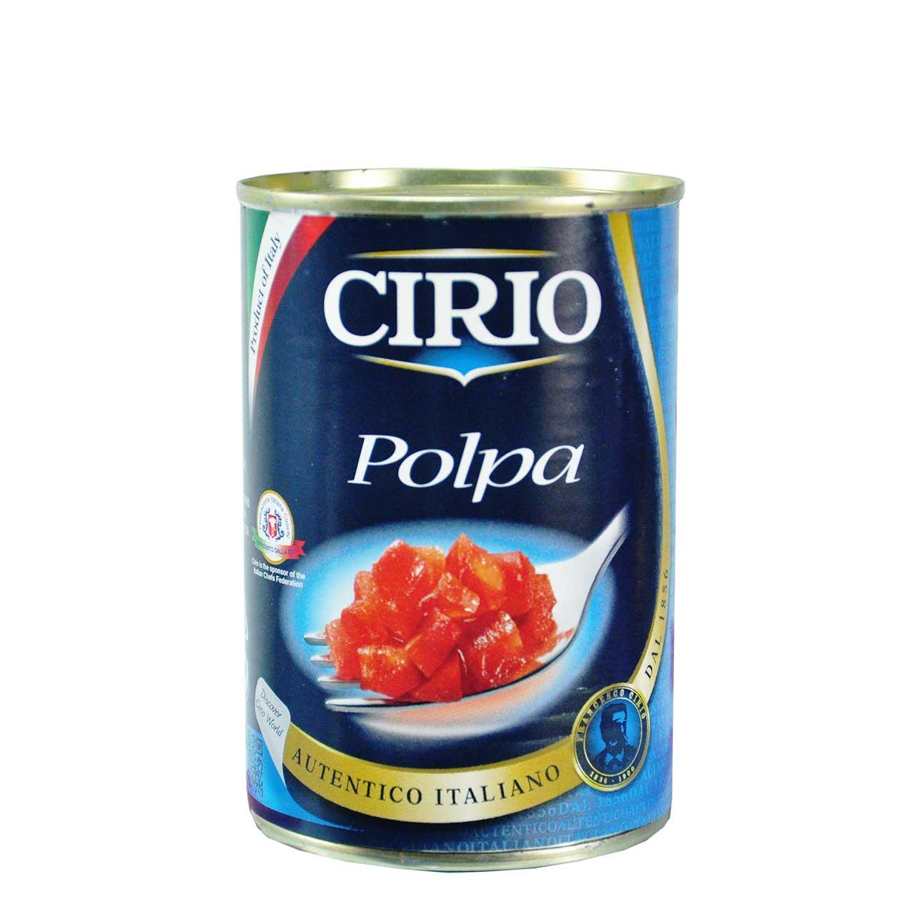 کنسرو گوجه فرنگی خرد شده چیریو – cirio