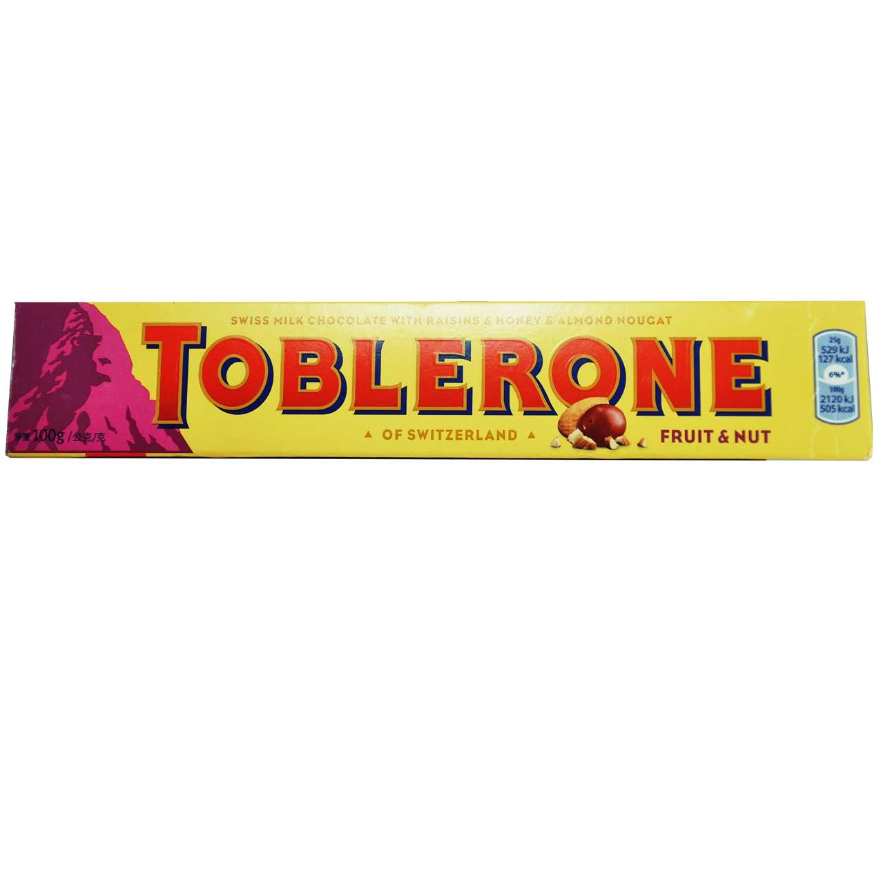 شکلات بابادام تابلرون