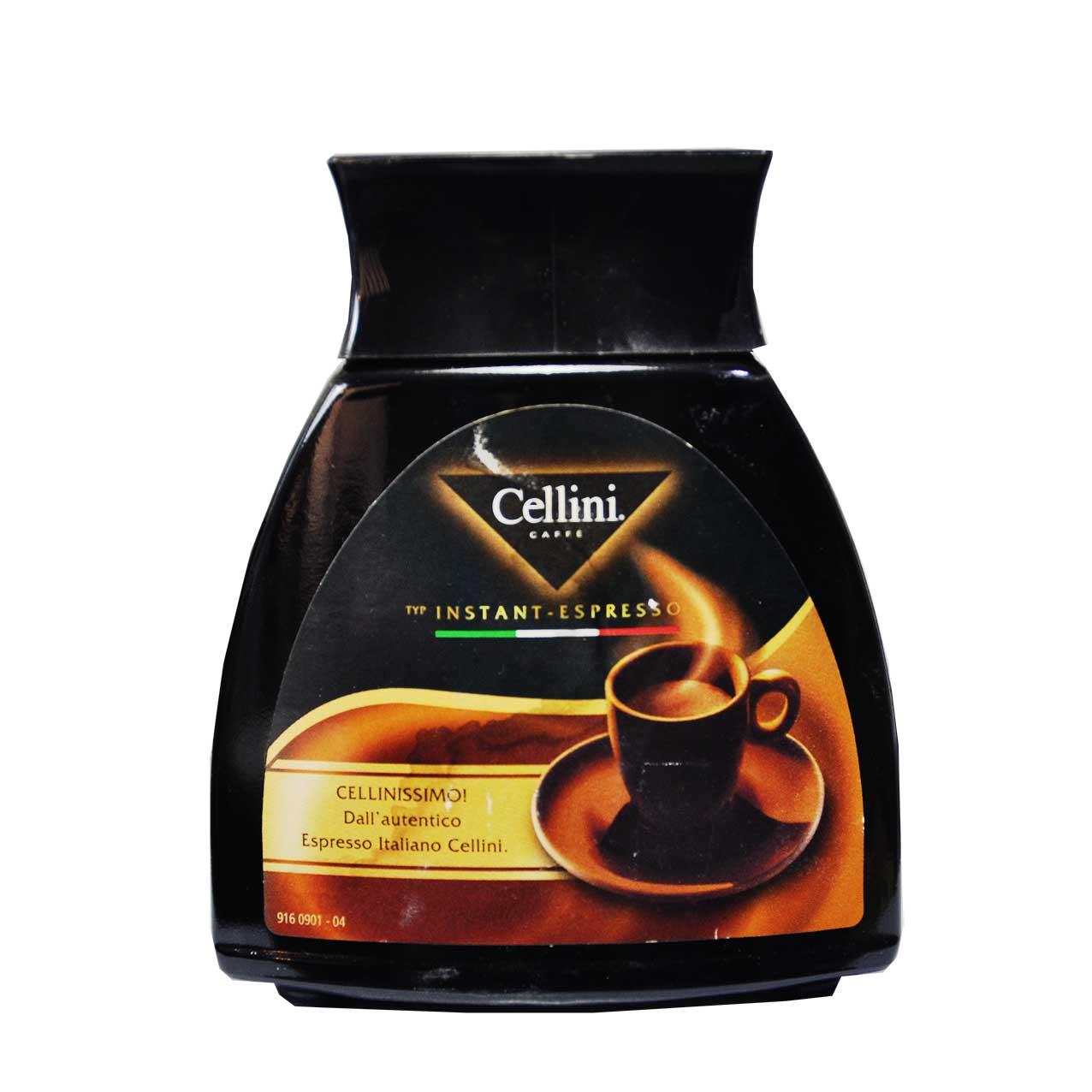 قهوه فوری اسپرسو چلینی – cellini