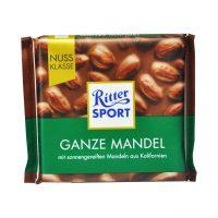 شکلات تلخ با بادام