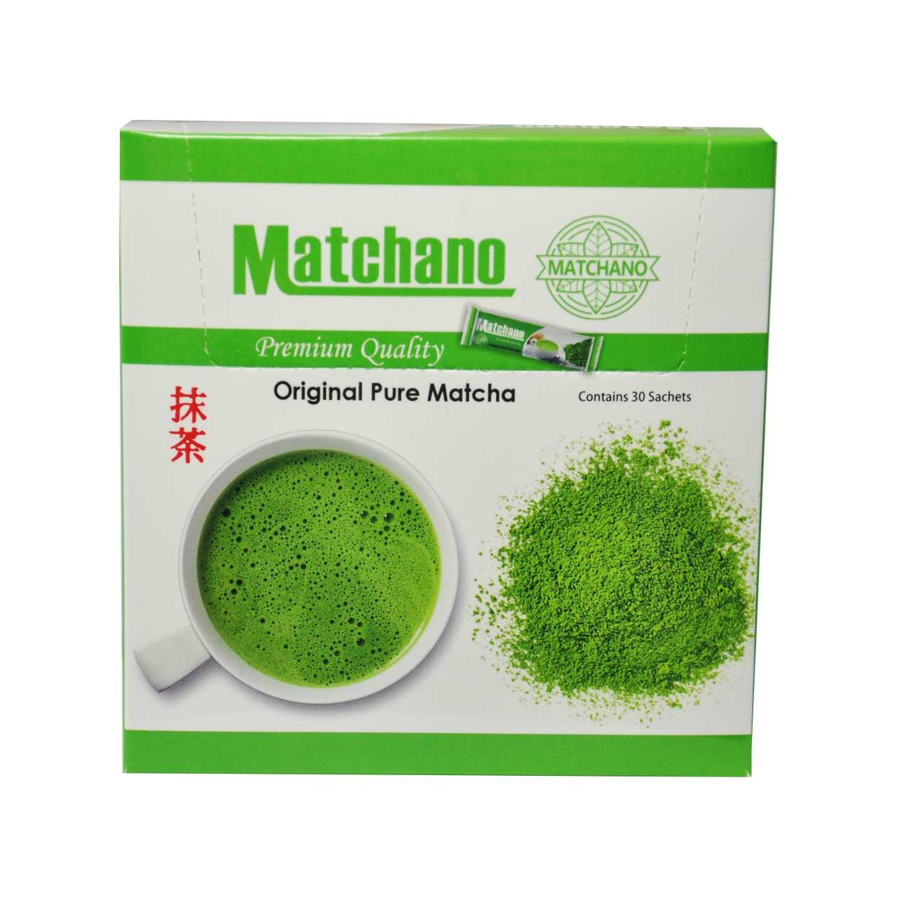تصویر چای ماچا