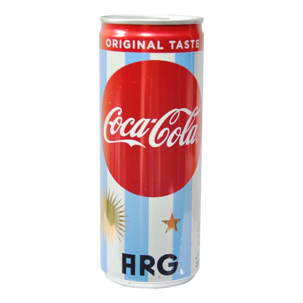 نوشابه قوطی کوکاکولا – coca cola