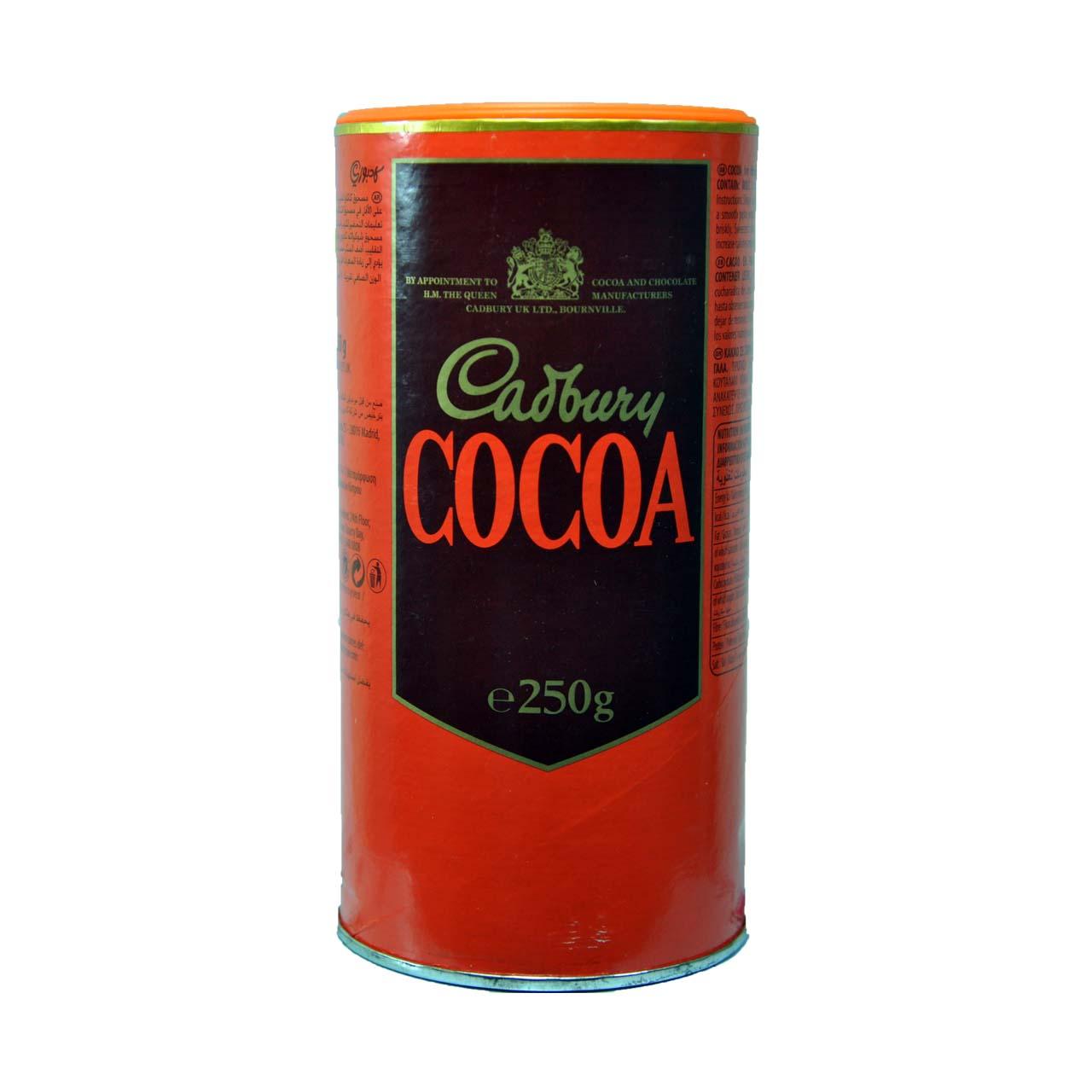 پودر کاکائو خالص تلخ کدبری – cadberry