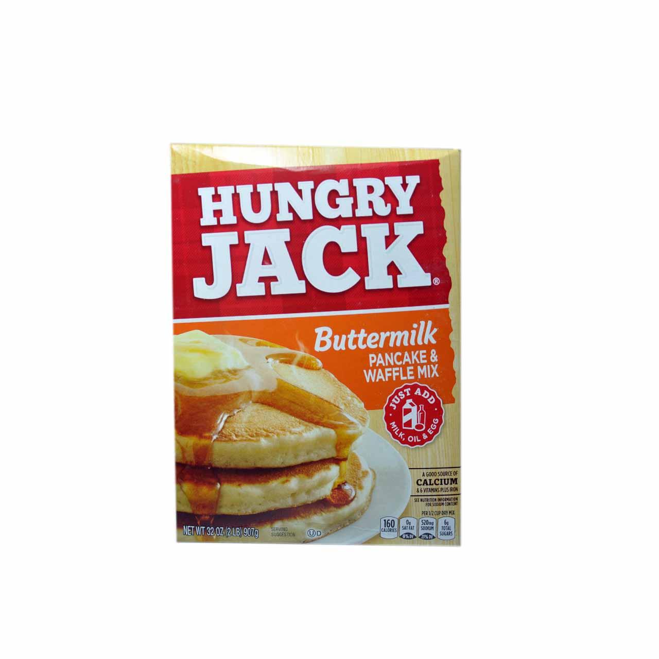 پودر پنکیک شیر و کره هانگری جک – Hungry jack