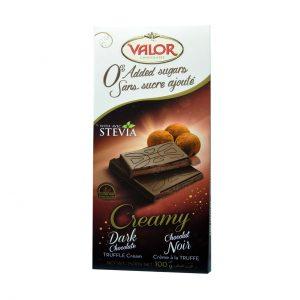 شکلات ترافل با استویا والور