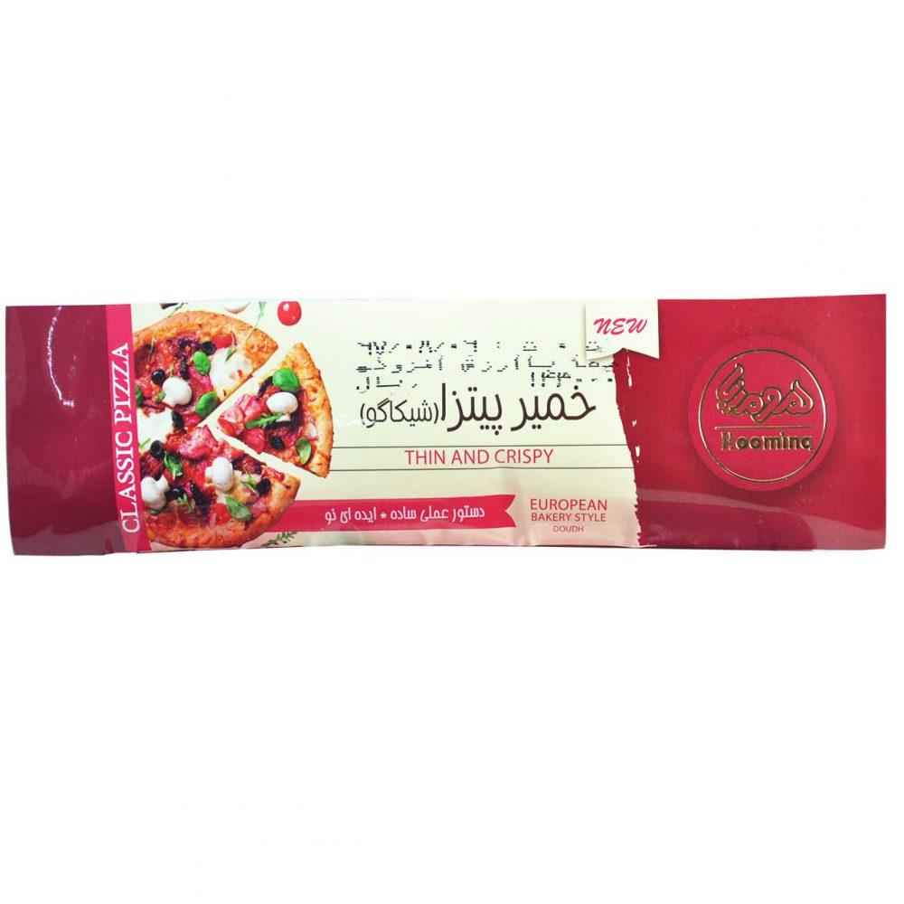 خمیر پیتزا هومینا