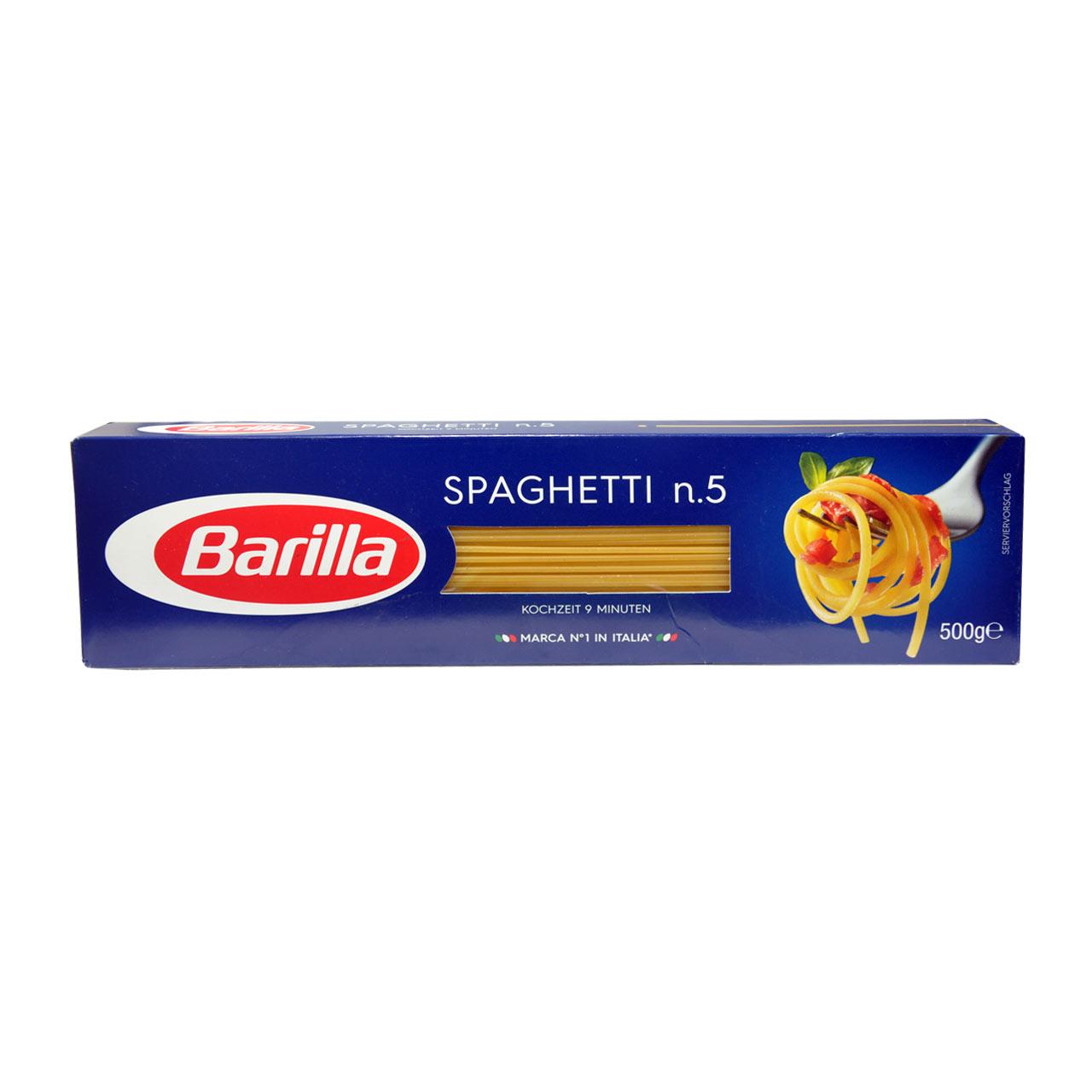 اسپاگتی باریلا شماره ۵ – barilla