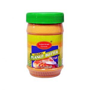 کره بادام زمینی بدون شکر امریکن گاردن