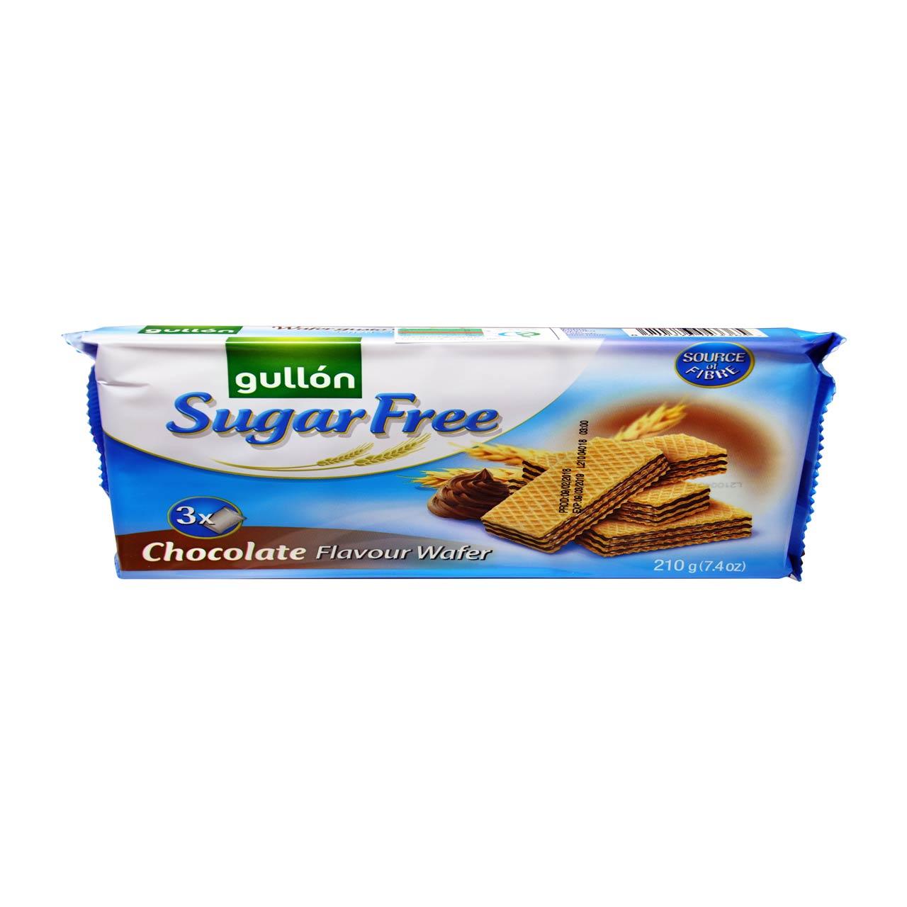 ویفر شکلاتی بدون شکر گولون – gullon