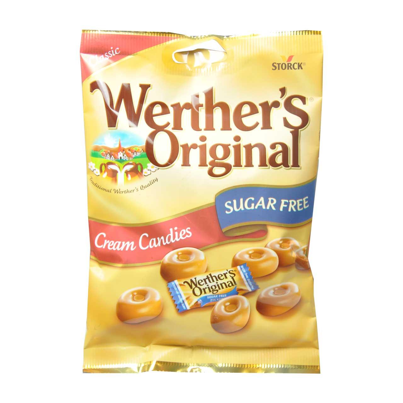 آبنبات بدون شکر وردرز – werthers