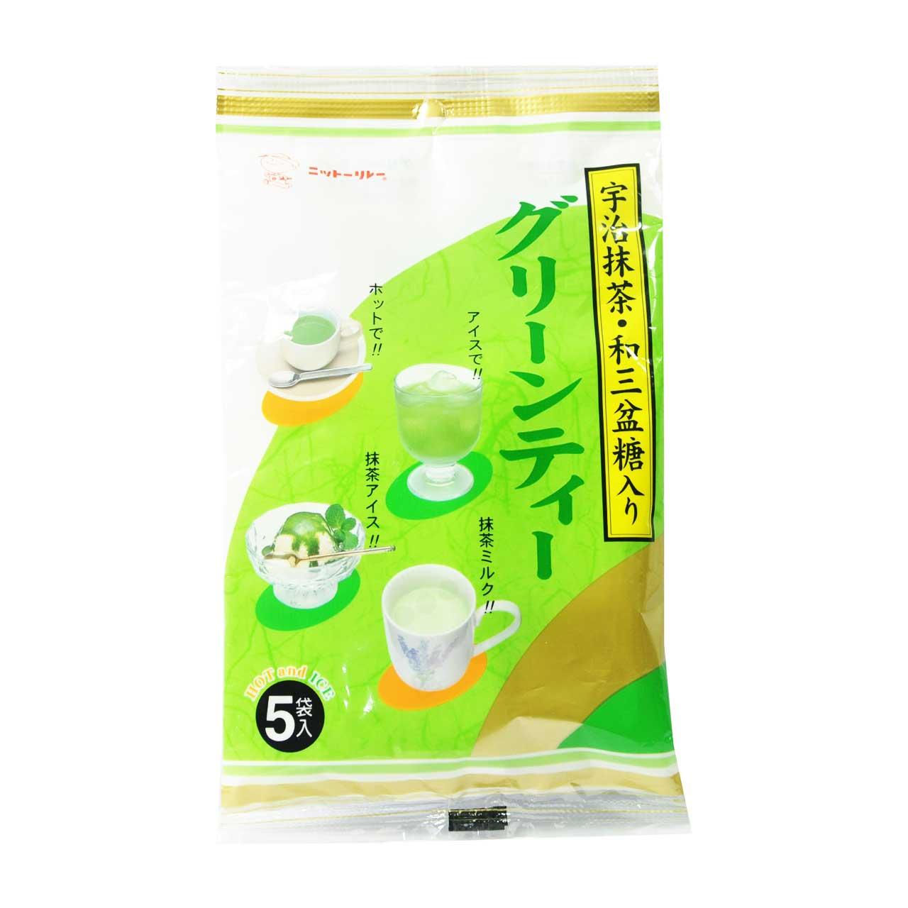 چای ماچا لاته سرد و گرم ژاپنی ۵ عددی – matcha au lait