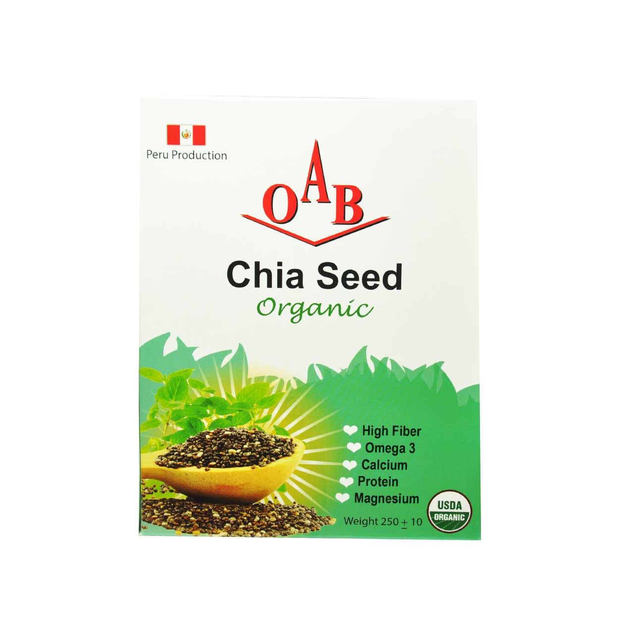 چیا سید ارگانیک chia seed – OAB