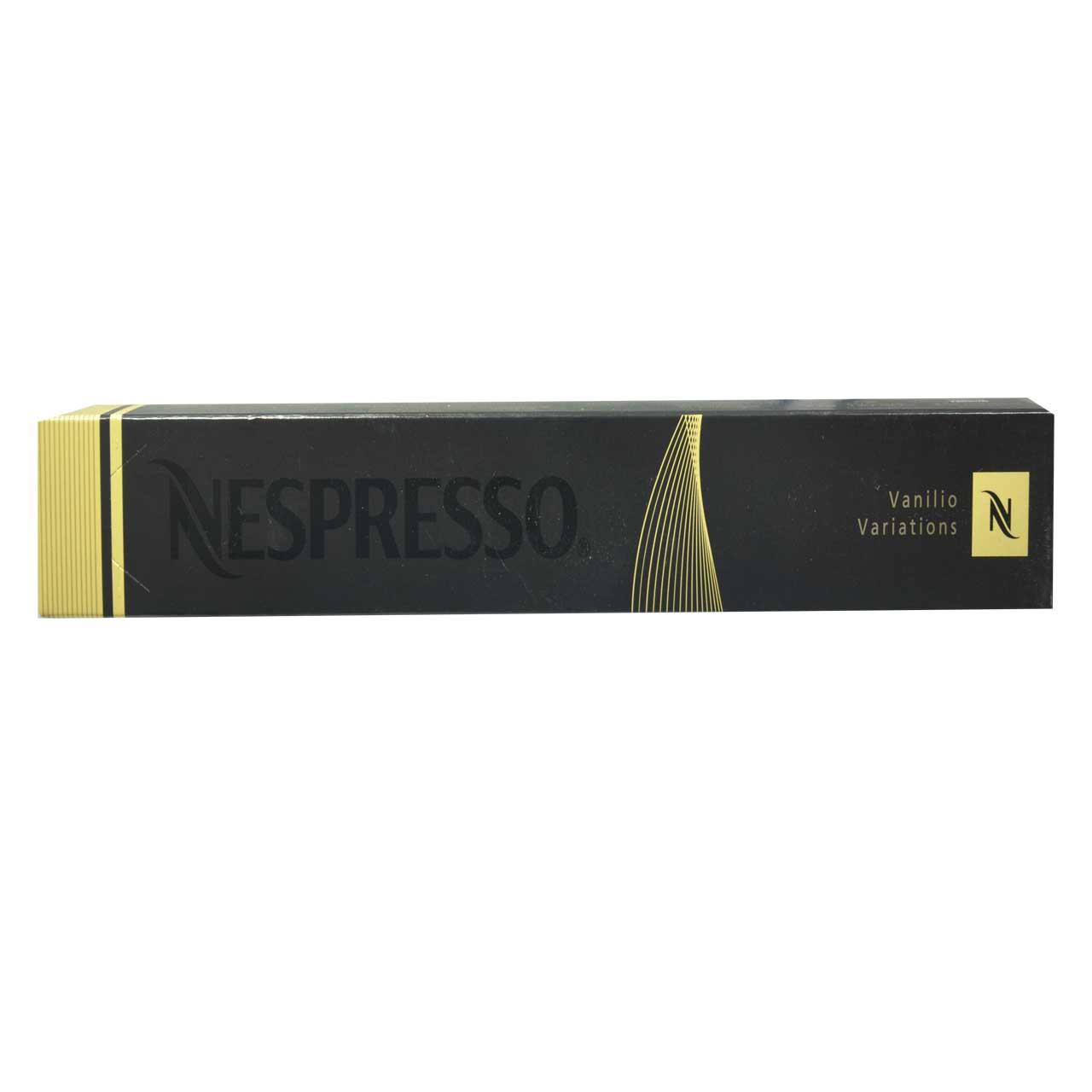 کپسول قهوه نسپرسو ۱۰ عددی vanilio variations