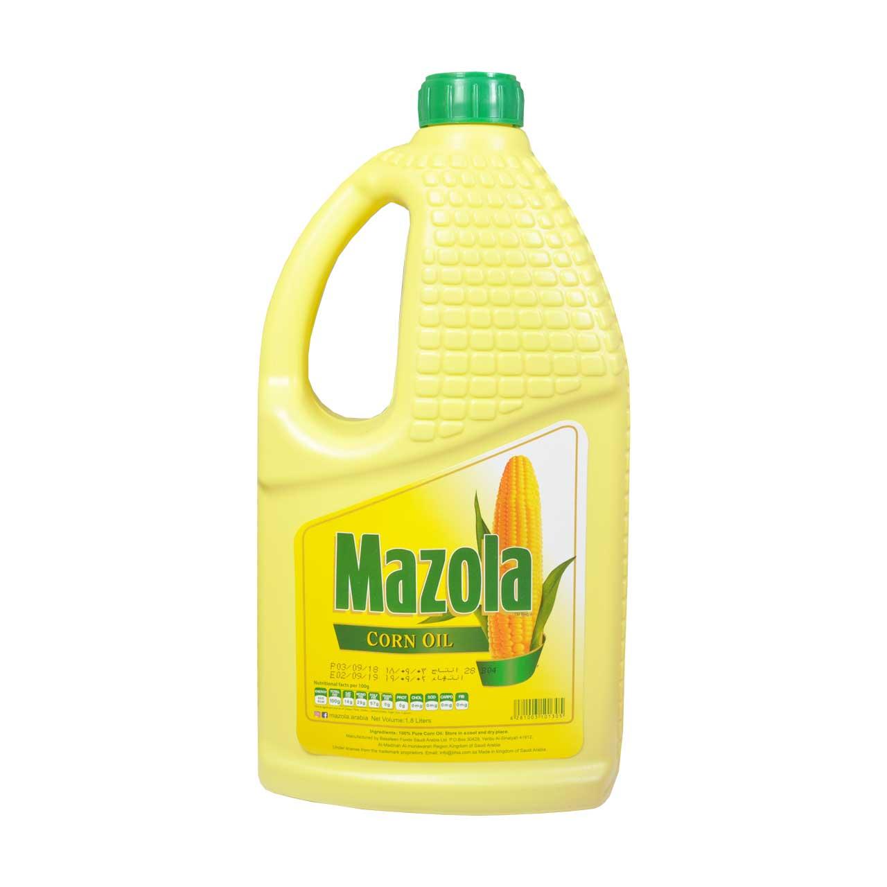 روغن ذرت مازولا ۱٫۸ لیتر