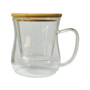 لیوان دمنوش چای سبز