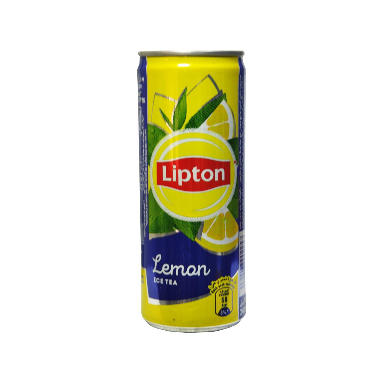 نوشیدنی آیس تی با طعم لیمو لیپتون – lipton