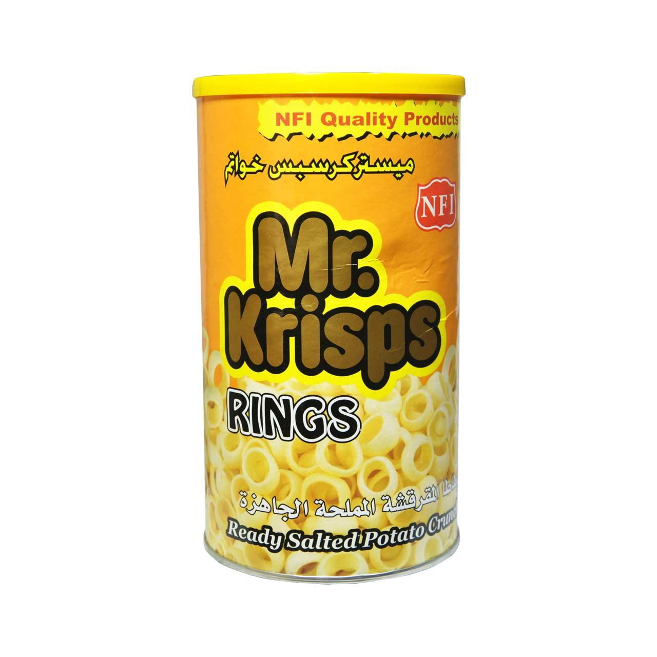 پفک حلقه ای مستر کریسپز – mr.krisps